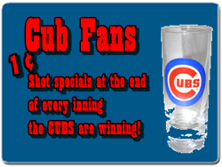 Beer City is the biggest Cub Fan