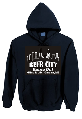 Beer City Hoodie Game On