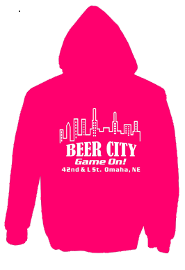 Beer City hooded Sweatshirt for sale